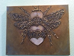 Hot Glue Bee - Uploaded by Judy Maynard