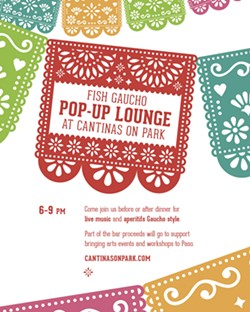 Fish Gaucho Pop-Up Lounge at Cantinas On Park - Uploaded by Kevin Rubow