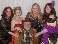 """Cast of """"Murder at Matties"""" - Uploaded by Ron Kewish"""