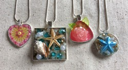 Make a beach scene or necklaces - Uploaded by Joan Martin Fee