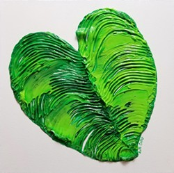 Elephant Ear Leaf - Uploaded by Art Central 1