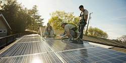 Volunteer and learn how to install solar - Uploaded by Elyssa Edwards