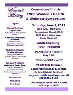 FREE Women's Health & Wellness Symposium - Uploaded by Lorraine Duenez