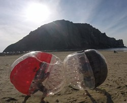 Have a ball on the beach - Uploaded by Tony Harris