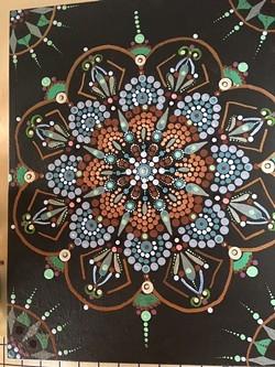 Dot Mandala - Uploaded by Judy Maynard