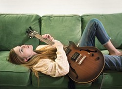 Songwriters at Play features Megan Steinke at Branch Street Deli - Uploaded by Kathryn Raine