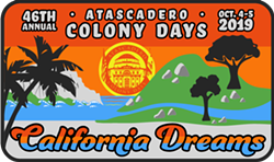 Atascadero Colony Days 2019 logo - Uploaded by Heather A Young