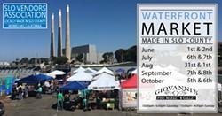 Waterfront Market Morro Bay Show Dates - Uploaded by Jolene Tench