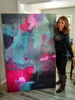 Jeanette Goulart shows in the abstract and Ivan de Aquiar is showing photos - Uploaded by Sheri Parisian