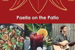 Paella on the Patio: Kevin Graybill - Uploaded by MichaelaCampo1
