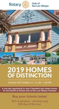 Rotary 19th Annual Homes of Distinction Tour Sept 15th, 2019 - Uploaded by Jessica Micklus 1