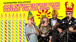 Swamp Blues Boogie B'day Bash at Puffers! - Uploaded by Latte2Party