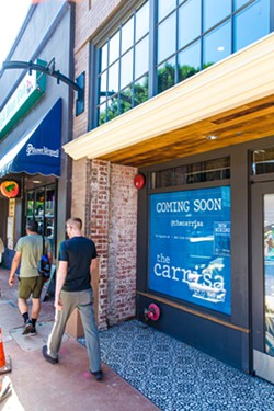PHOTO BY JAYSON MELLOM - REBRANDING SLO Brew has been closed since July 18 when its alcohol license was suspended temporarily after the bar was cited for an underage drinking incident. Now the bar is reopening as The Carrisa by SLO Brew.