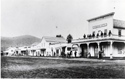 Downtown Cayucos, circa 1900 - Uploaded by Louisa Smith