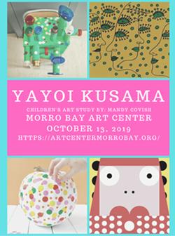 Children's Art- Meet Yayoi Kusama - Uploaded by Robin Bradley