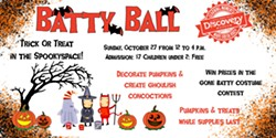 Batty Ball is Sunday October 27 from 12-4 p.m. - Uploaded by Robbie Naten