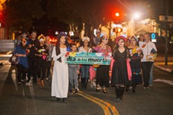 Dia de los Muertos Candlelight Procession - Uploaded by Jen Brogno Kaplan