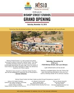 Bishop Street Studios Grand Opening Invitation - Uploaded by TMHATweets