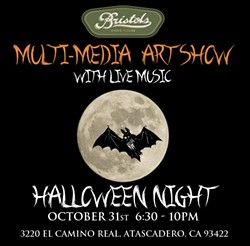 Halloween Art Show & Costume Party! - Uploaded by Bristols Cider House