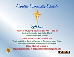 Cambria Community Chorale - Alleluia - Uploaded by Cambria Chorale