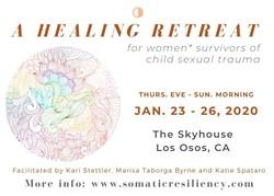 Healing Retreat for Survivors - Uploaded by Marisa Taborga Byrne