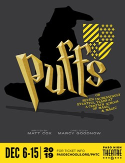 PUFFS or Seven Increasingly Eventful Years at a Certain School of Magic and Magic - Uploaded by Marcy Goodnow