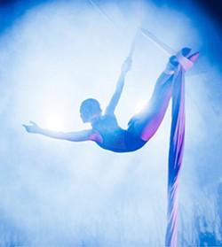 Enjoy the wonder of the Winter Aerial Showcase, presented by Levity Academy on December 13 & 14 - Uploaded by Jamie Relth