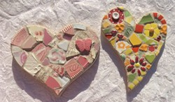 Beginner mosaics - Uploaded by Joan Martin Fee