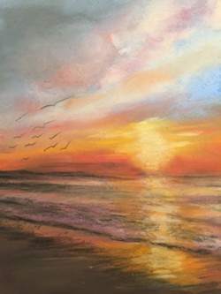 Sunset by Greg Trombly - Uploaded by Mari O'Brien