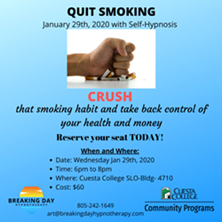 QUIT SMOKING IN 2020! - Uploaded by Art Kuhns