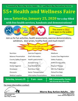 55+ Health and Wellness Faire - Uploaded by bradylock