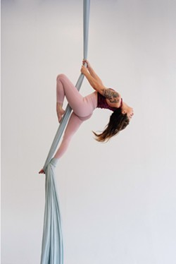 Aerialists soar in Hearts Above Aerial Showcase, February 7 & 8 at 7 p.m. - Uploaded by Jamie Relth