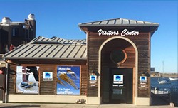 IMAGE COURTESY OF THE CITY OF MORRO BAY - HELPING VISITORS The city of Morro Bay is discussing relocating its visitor center from Harbor Street to the Embarcadero.