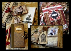 """Gypsy Junk & Vintage Journals"" - Uploaded by Mari O'Brien"