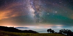 Marc Muench, Figueroa Mountain Under the Milky Way on May 26, 2015, Photograph, Courtesy the Artist - Uploaded by Wildling Museum Intern