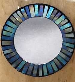 Mosaic Mirror - Uploaded by Lisa R Falk