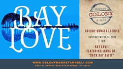"""Bay Love featuring Linda from """"Back Bay Betty"""" at Colony Market and Deli - Uploaded by Joanna Wemple"""
