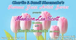 Spring Central Coast Jazz Institute Fundraiser features jazz pianist Madison Scott - Uploaded by Sheri H