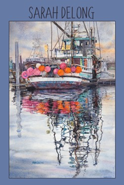 Watercolors by Sarah DeLong - Uploaded by Gregory Siragusa