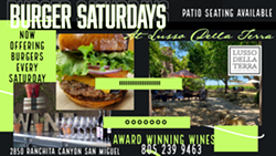 Burger Saturday's - Uploaded by Wine Galee