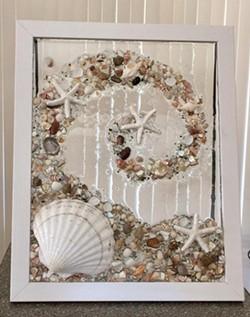 Create a resin beach scene at home - Uploaded by Joan Martin Fee