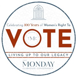 A DRIVE-BY PICNIC FUNDRAISER Celebrating 100 years of women's right to vote. - Uploaded by tmcpublicity