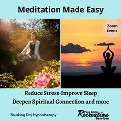 Meditation Made Easy - Uploaded by Art Kuhns
