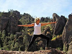 Instructor Doris Lance will teach how to build balance, gain muscle strength and flexibility on Tuesday, Wednesday, Thursday from 9:00 a.m. to 9:45 a.m. via Zoom classroom. - Uploaded by avidhiker2
