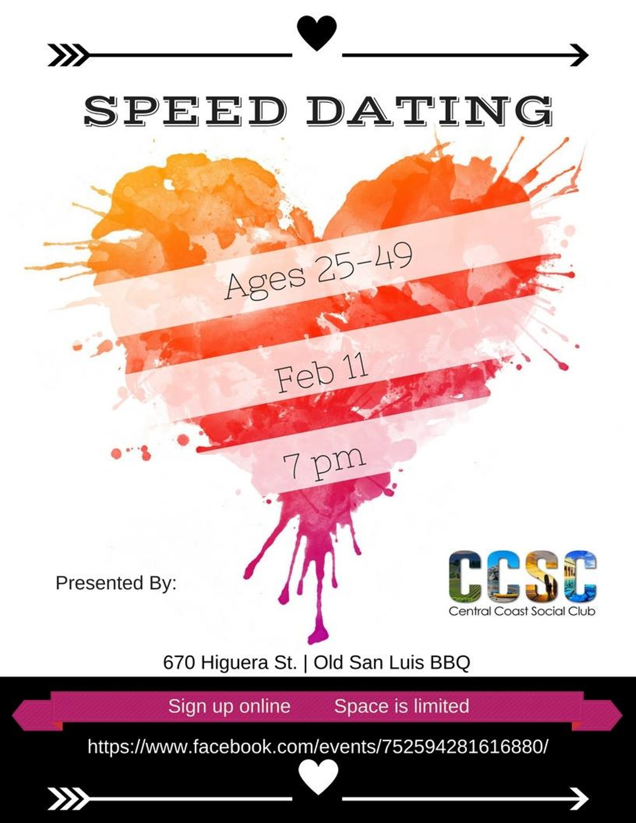 Speed Dating On The Central Coast