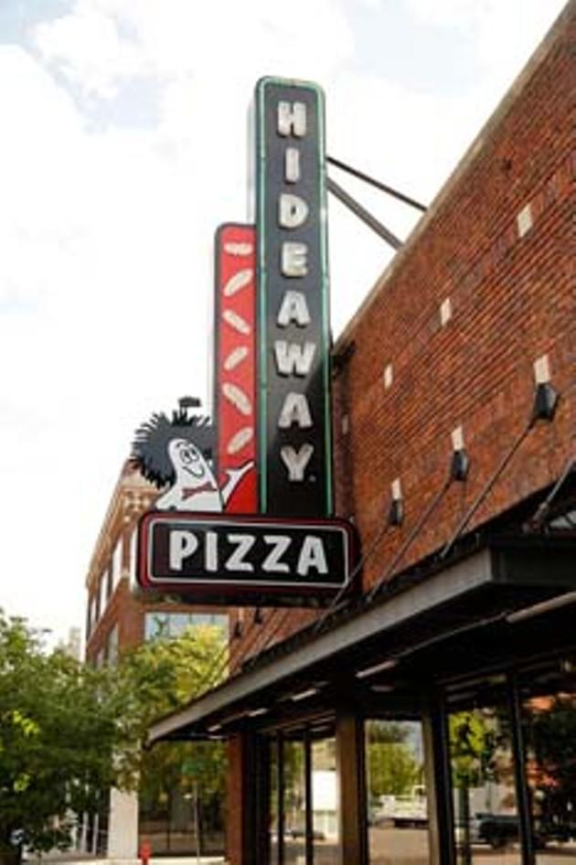 Hideaway Pizza in Oklahoma City, Tuesday, Aug. 5, 2015.  (Garett Fisbeck) - GARETT FISBECK