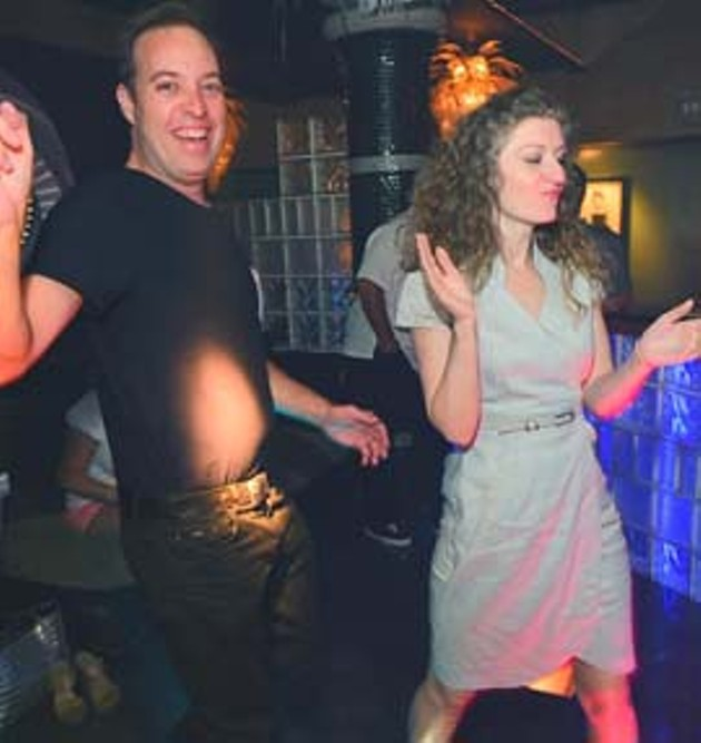 Gordon and Marsi Haave dance it up at Groovy's on a Saturday Night.  mh