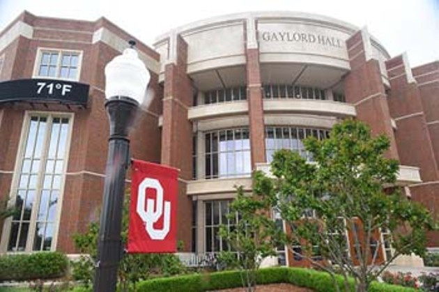 Gaylord Hall on OU Campus.  mh