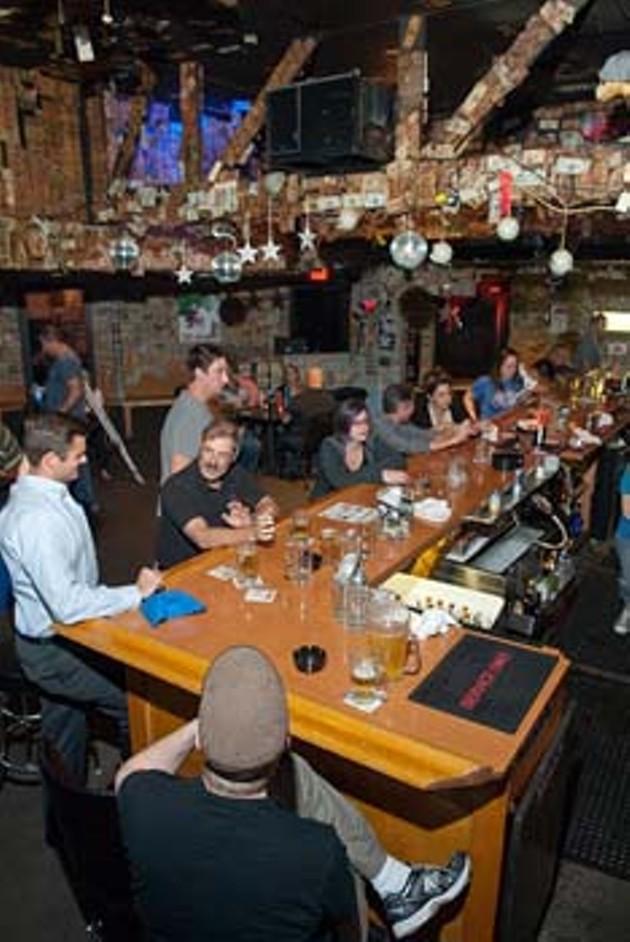 Edna's bar scene.  mh