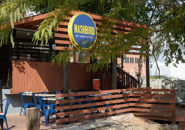 Nashbird is located in Autombile Alley at 1 NW Ninth St. | Photo Garett Fisbeck
